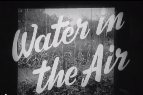 Water in the Air